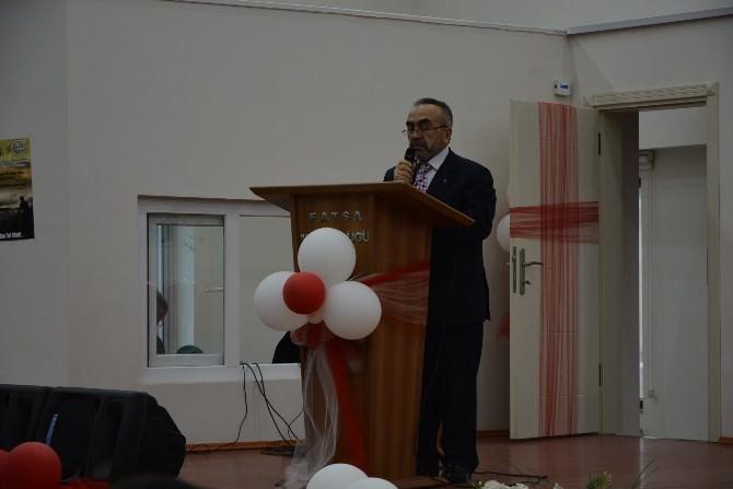 Fatsa'da 'Kadın Ve Şehitlik' Konferansı