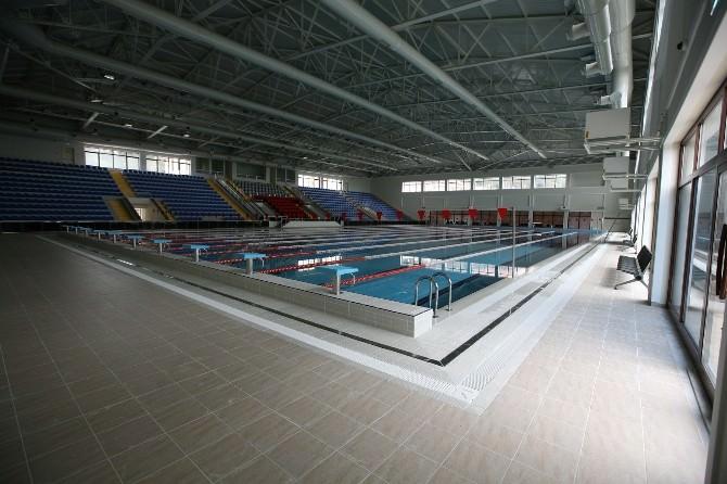 Rize'de Yeni Spor Tesislerinde Müsabakalar Başladı
