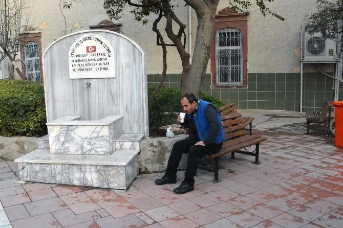 İkram Çeşmelerinden Çanakkale Aktı