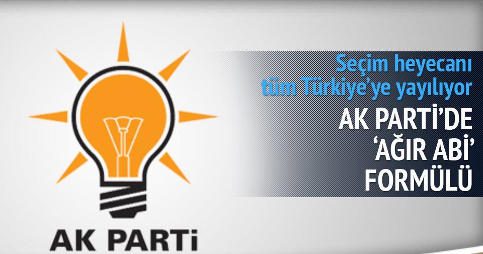 AK PARTİ'DE 'AĞIR ABİ' DEĞİŞİKLİĞİ