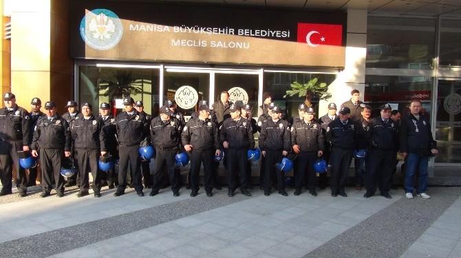 Manisa'da Meclis Toplantısında Geniş Güvenlik Önlemleri