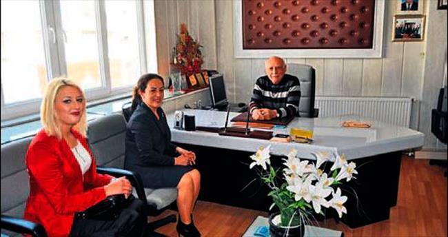 AK Partili Aras'ın Korkuteli ziyareti