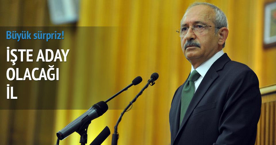 İşte Kılıçdaroğlu'nun aday olacağı il