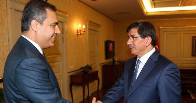 Davutoğlu, MİT Müsteşarıyla görüştü