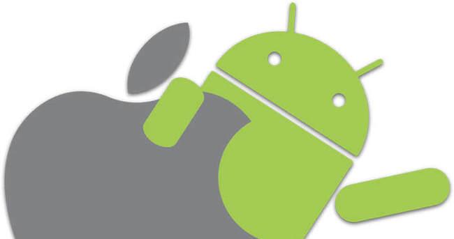 iOS'un izi Android'te bulundu