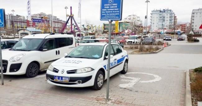 Trafik polislerine trafik cezası
