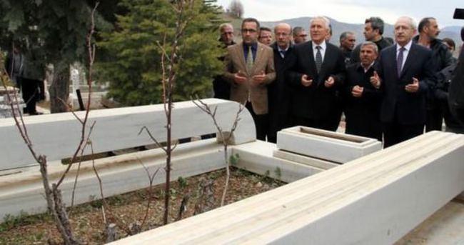 Şaşırttı! Kemal Kılıçdaroğlu'ndan türbe ziyareti