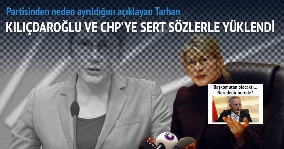 Tarhan'dan CHP'ye sert sözler