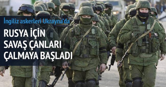 İngilltere, Ukraynalı askerleri eğitiyor