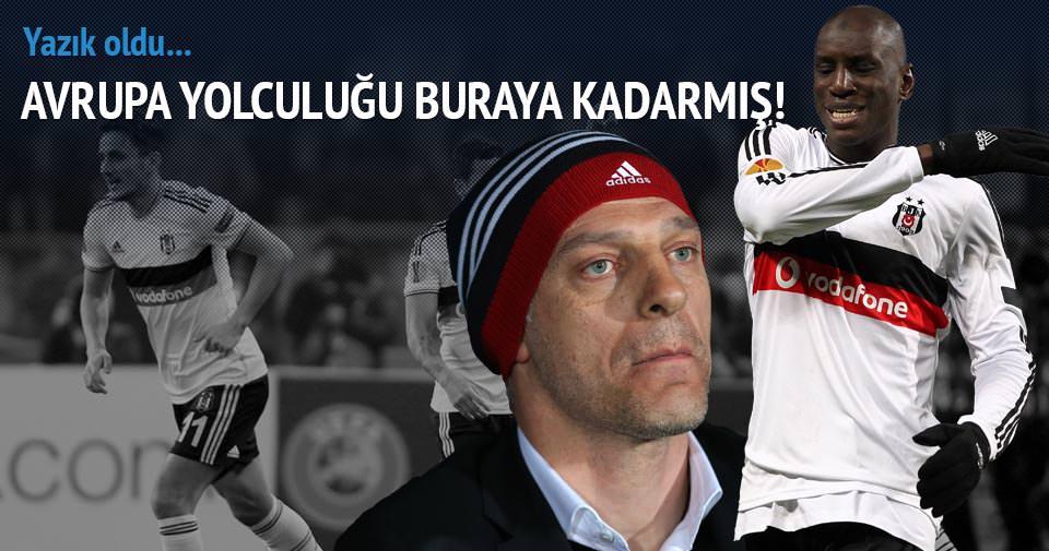 Beşiktaş—Brugge! Yazık oldu (BJK-Brugge özet ve golleri)