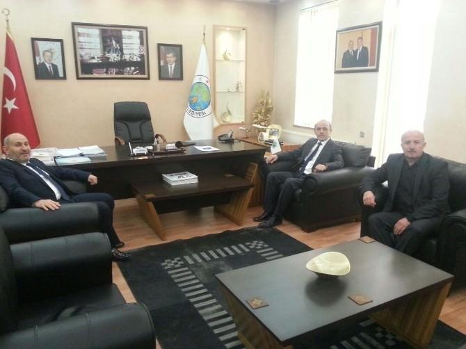 Başkan Öztürk'ten Başkan Püsküllü'ye Ziyaret