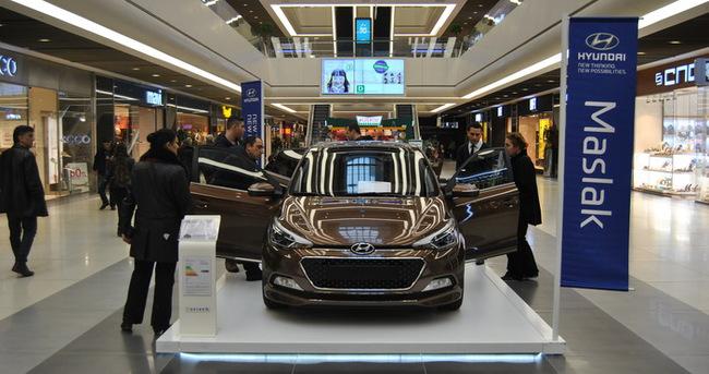 Hyundai'nin yeni i20 modeli Özdilek Park AVM'de