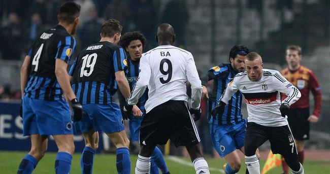Beşiktaş Avrupa'da kenardan destek alamadı