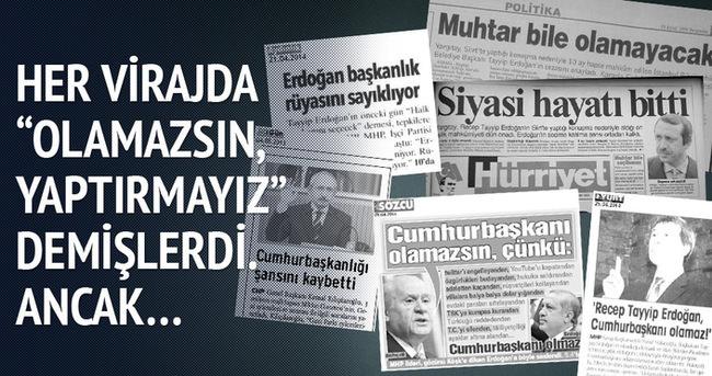 İşte Erdoğan'ın geçtiği engeller