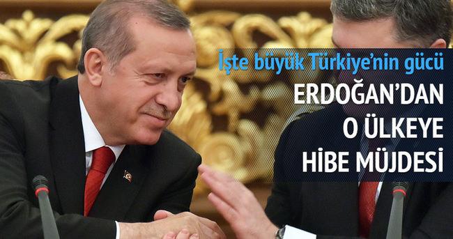Erdoğan'dan Ukrayna'ya müjde