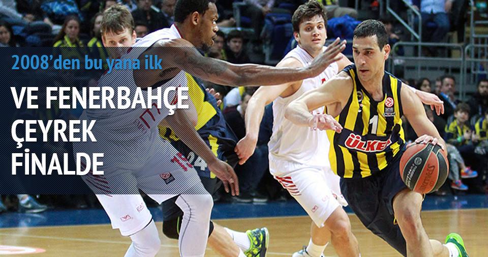 Ve Fenerbahçe çeyrek finalde!