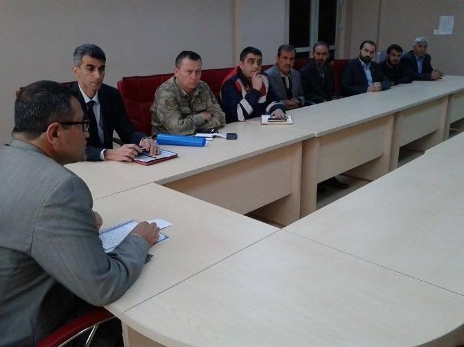 Nizip'te Seçim Güvenliği Toplantısı
