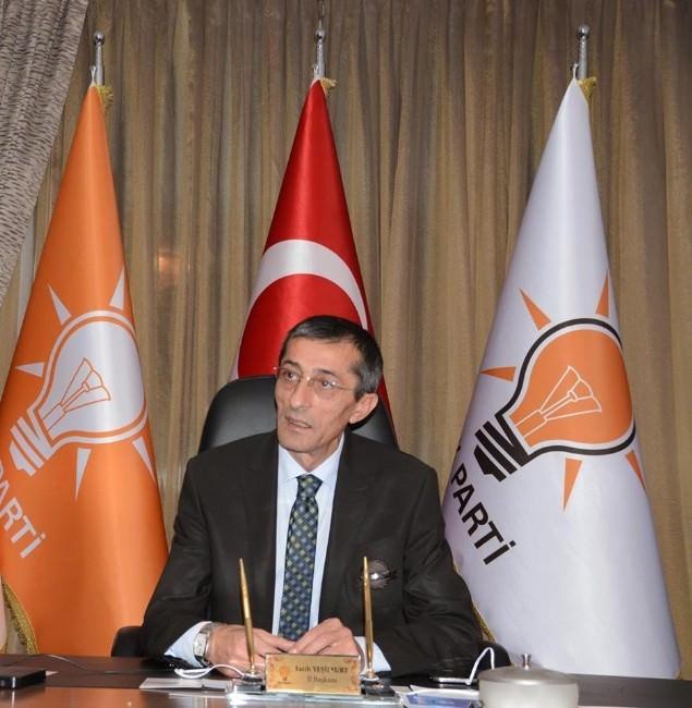 AK Parti İl Başkanı Yeşilyurt'tan Temayül Açıklaması
