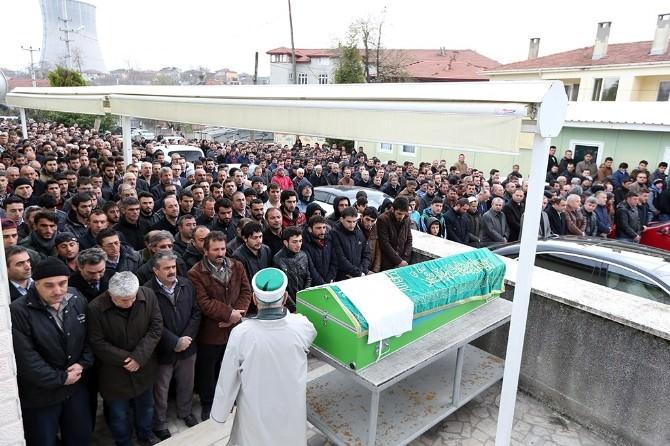 Başkan Toçoğlu Ölen Güvenlikçinin Cenazesine Katıldı
