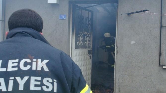 Bilecik'te Çıkan Yangında 2 Çocuk Ölümden Döndü