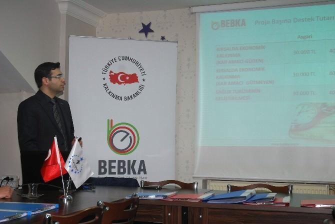 Bebka 2015 Mali Destekleri TÜMSİAD'da Tanıtıldı