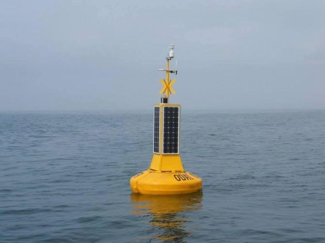 Meteorolojik Gözlem Şamandırası Denize İndirilecek