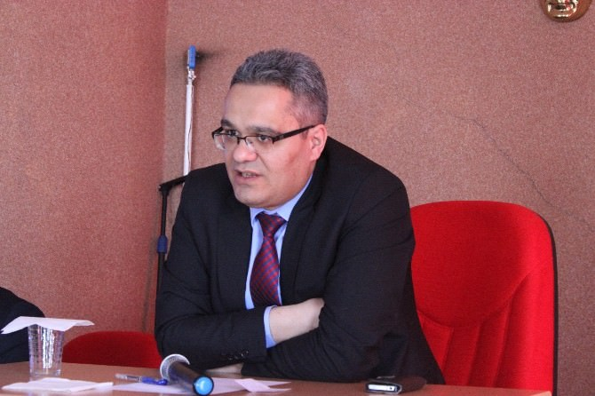 """Başsavcı Bozkurt'tan Suç Ve Ceza"""" Konferansı"""