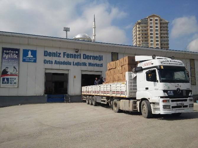 Deniz Feneri Derneği'nden Suriyelilere Yardım