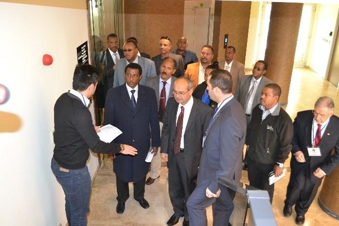 Etiyopya Heyetinden Çerkezköy'e Ziyaret