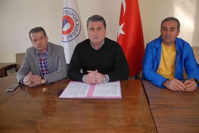 Fethiyespor Mesut Toros'la 2 Yıllık Sözleşme İmzaladı