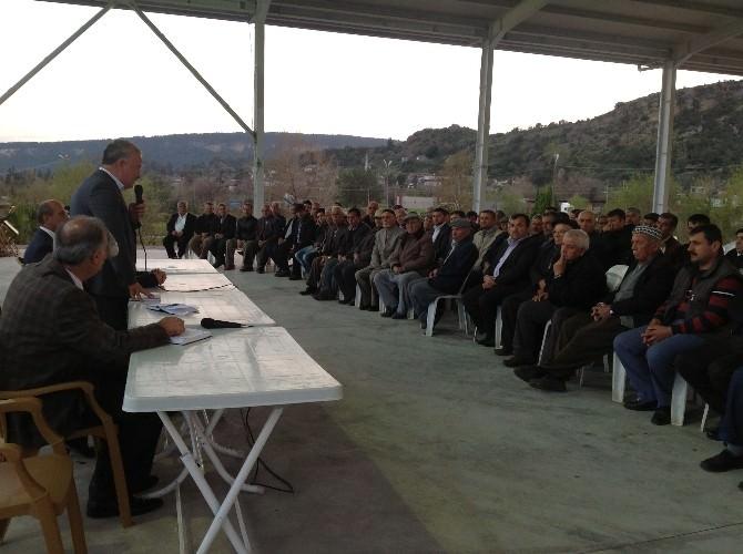 Başkan Şahin Karaöz'de Halkı Dinledi