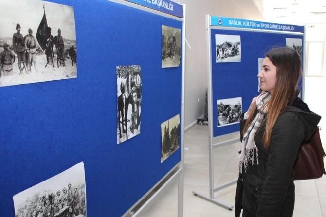 KMÜ Öğrencilerinden Çanakkale Sergisi