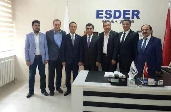 Vali Orhan Düzgün'den ESDER'e Ziyaret