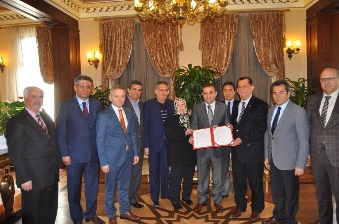 Korkuteli Zeynep - Mustafa Kemer Ortaokulu Protokolü İmzalandı