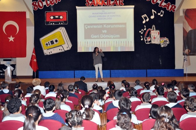 Muratpaşa'dan 1500 Öğrenciye Geri Dönüşüm Eğitimi