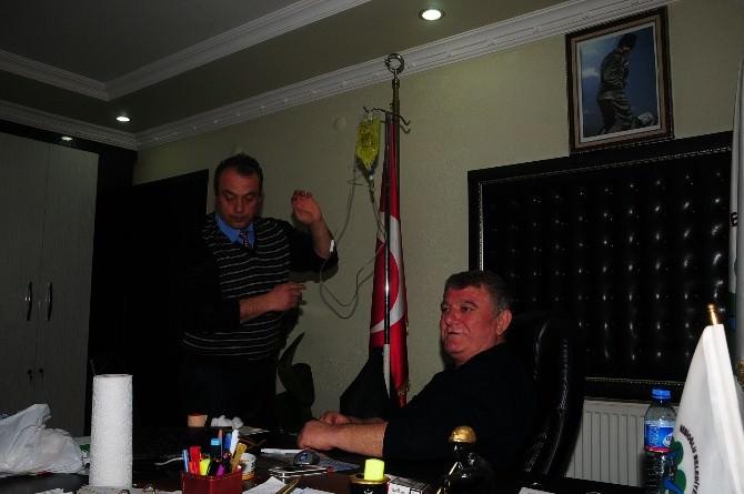 Belediye Başkanı Toplantıda Fenalaştı