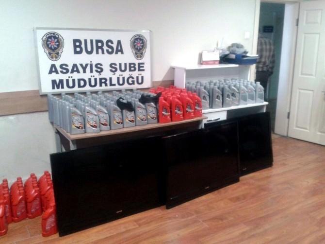 Bursa'da Hırsızlık Operasyonuna 2 Tutuklama