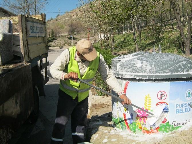 Pursaklar'da Temizlik Seferberliği