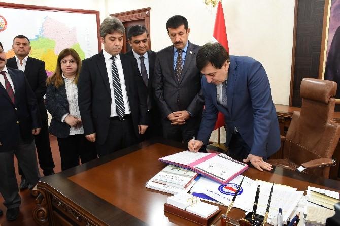 Madde Bağımlılığı İle Mücadelede İşbirliği Protokolü İmzalandı