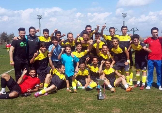 Selçuk Üniversitesi'nin Futbol'da Hedefi Birinci Lig
