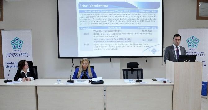 NEÜ'de Sivil Havacılık Eğitim Semineri Düzenlendi