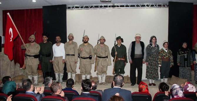 """Taşköprü Belediyesi'nin """"Destan 1915"""" Oyununa Büyük İlgi"""