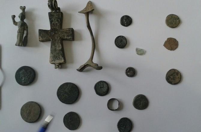 Niksar'da Tarihi Eser Ele Geçirildi