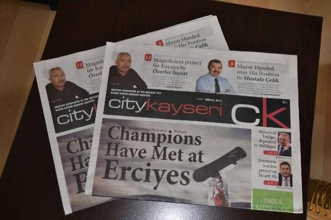 City Kayseri Gazetesi'nin İkinci Sayısı Çıktı