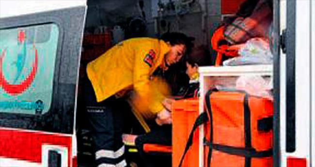 Kırıkkale'de otomobille cip çarpıştı: 6 yaralı