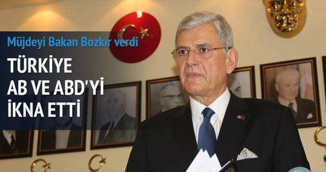 AB Bakanı Bozkır'dan Gümrük Birliği sürprizi