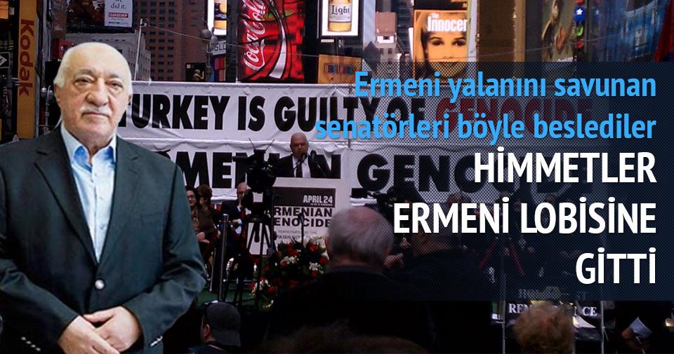 Paralelciler Ermeni yalanını savunan senatörleri böyle savundu