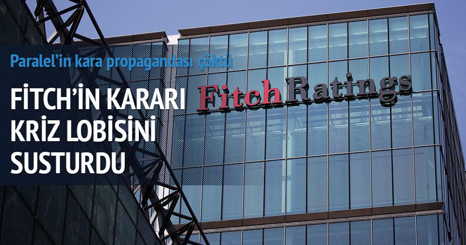 Fitch açıkladı: Bank Asya Türk ekonomisini etkilemedi