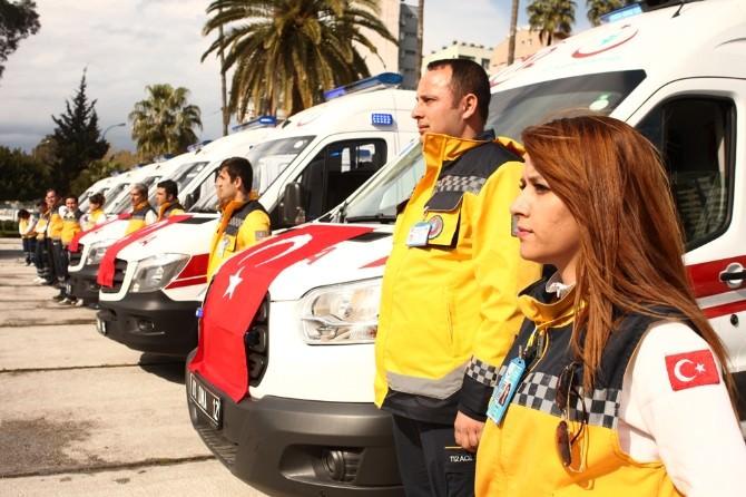 Adana'da Ambulans Sayısı 164'e Çıktı