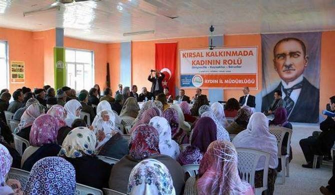 Aydın'da Kadın Çiftçiler Güç Birliği Yapıyor